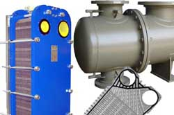 Spare Parts for Heat exchangers, Oil coolers, Condensers, Heaters
